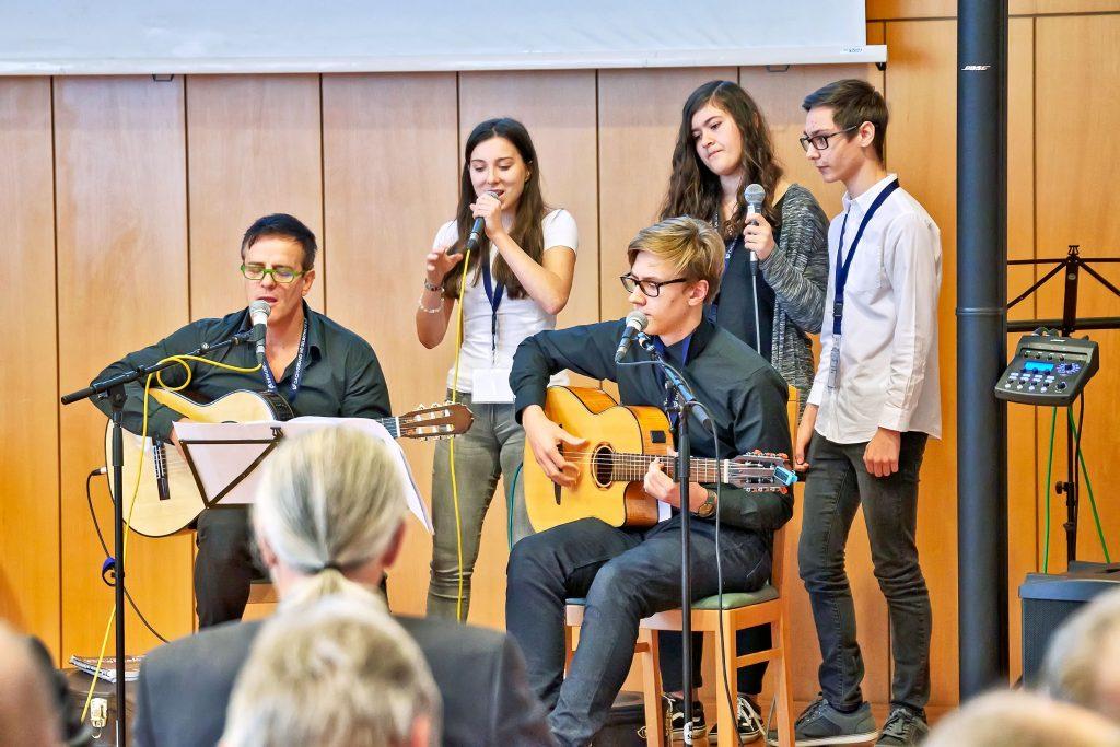 Musikdarbietung bei der 9. Landeskonferenz Selbsthilfe NÖ