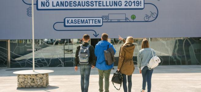 "NÖ Landesausstellung 2019 ""Welt in Bewegung"""