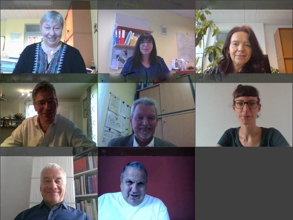 Mitglieder des NÖ MTA bei einer Videokonferenz