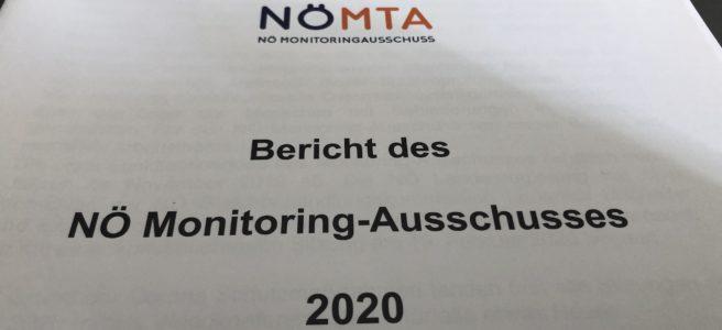Deckblatt des Tätigkeitsberichtes 2020